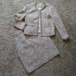 Cato skirt and blazer suit set